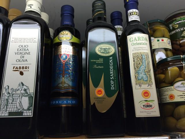 イタリアのスーパーにて