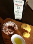 Folignoのオリーブオイルとパン