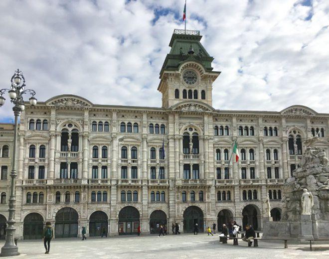トリエステ・イタリア統一広場