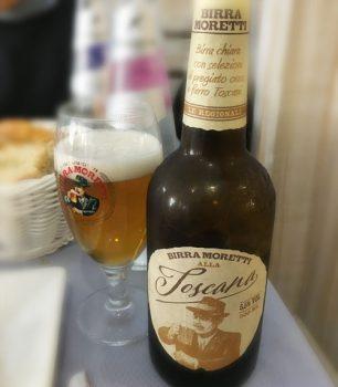 イタリアビールモレッティ・トスカーナ